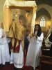 Corpus Christi Procession leaving church