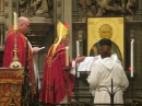 The Bishop blesses the new Ikon (1)