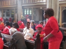 Members of the congregation on Pentecost Sunday 3