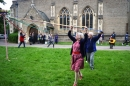 Dancing around the Maypole pictures
