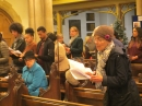 Congregation members at the Carol Service