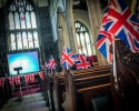 More flags in Church