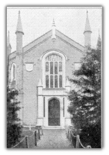 The first church building
