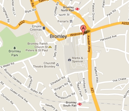 Bromley United Reformed Church Contact Us