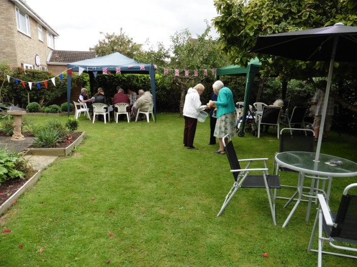 Vicarage Tea Party photo