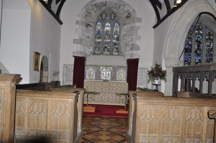 St Michael's Caerhays chancel
