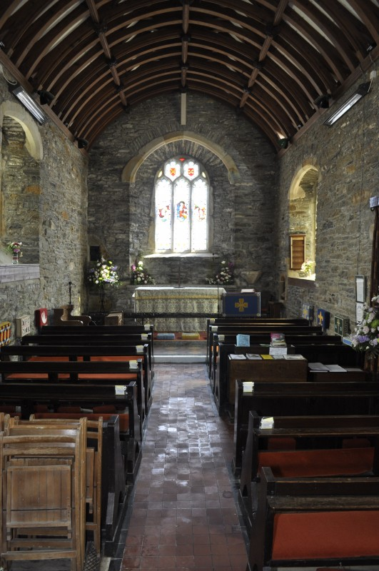 The tranquil St Just church, a haven of Peace