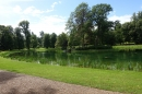 The beautiful lake at Althorp, where Princess Diana is 'at rest'
