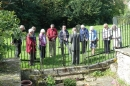 Bishop Alan leads Prayers at St. Withburga's Well.