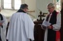 Revd. James with Bishop Graham