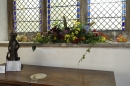 The Guiding Association always produce a lovely foral arrangement.