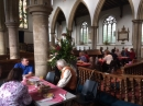 Revd. James Rosie joins us for harvest lunch.