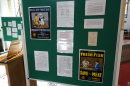 Posters detailing food advice