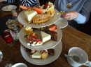 Yummy cakes - afternoon tea at the Kicking Donkey