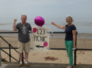 Holiday at Home June 2019 - Grandparents and grandchildren's picnic on Crosby beach for the Community