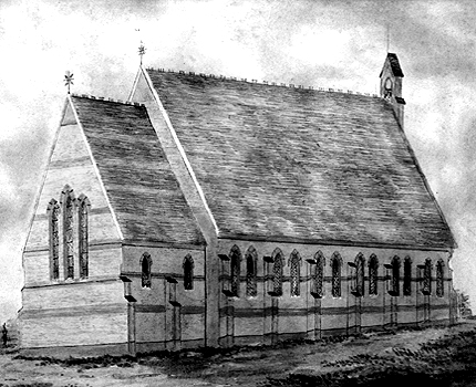 The church in 1864