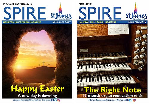 Spire magazines