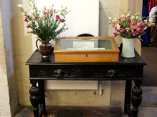 Remembrance table