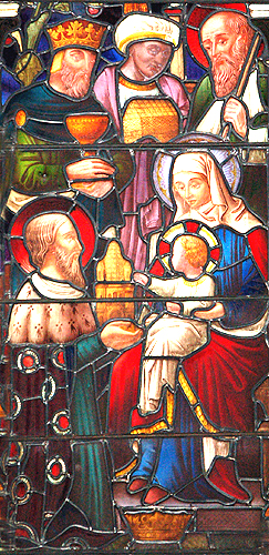 Epiphany stained glass window