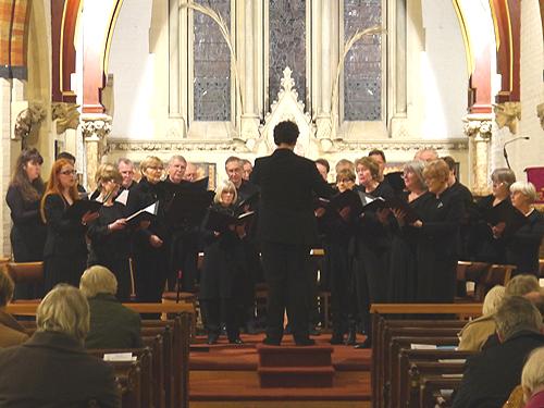 A concert in church