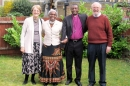 Bishop Matthew Mhagama and Skola with Ann and Paul