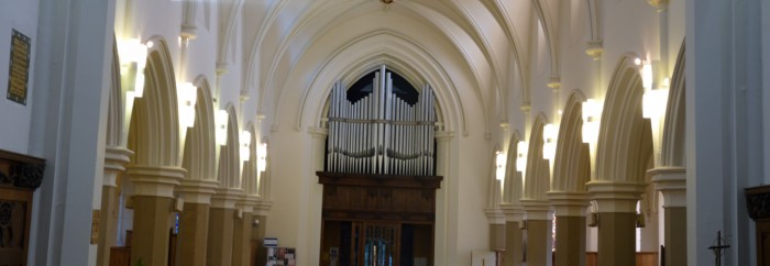 Arches and organ