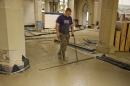 Levelling the floor