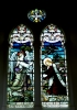 Edwardian stained glass-North side-Gethsemane