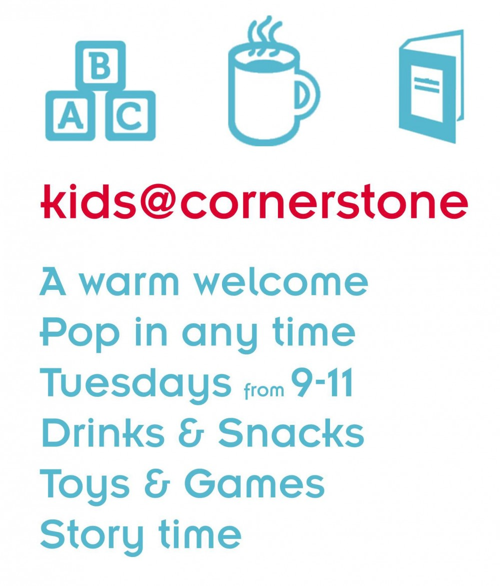 kids@cornerstone - a warm welcome