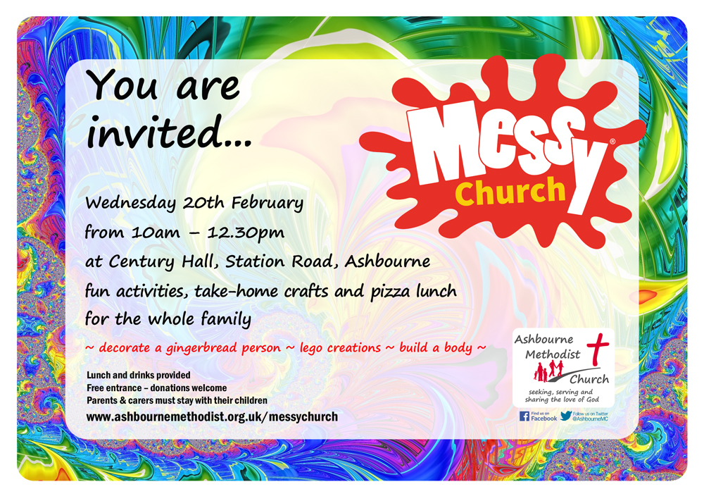 Messy Church Flier