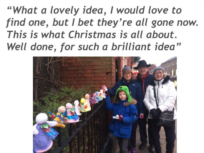 More comments about #xmasangels