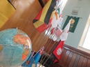 Some of the flags at our world mission service