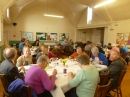 Harvest lunch in the hall