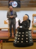 Roger and Davros in debate