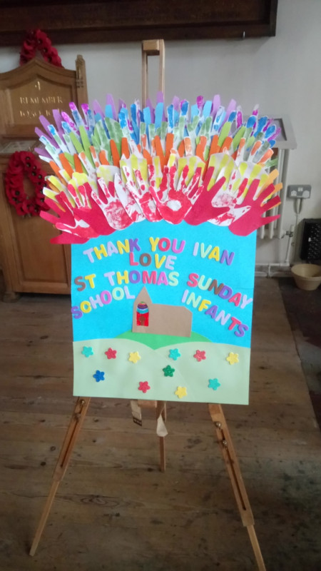 A THANK YOU FROM THE YOUNGEST SCHOOL MEMBERS
