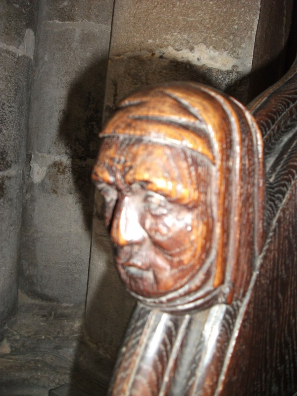 Chancel carving