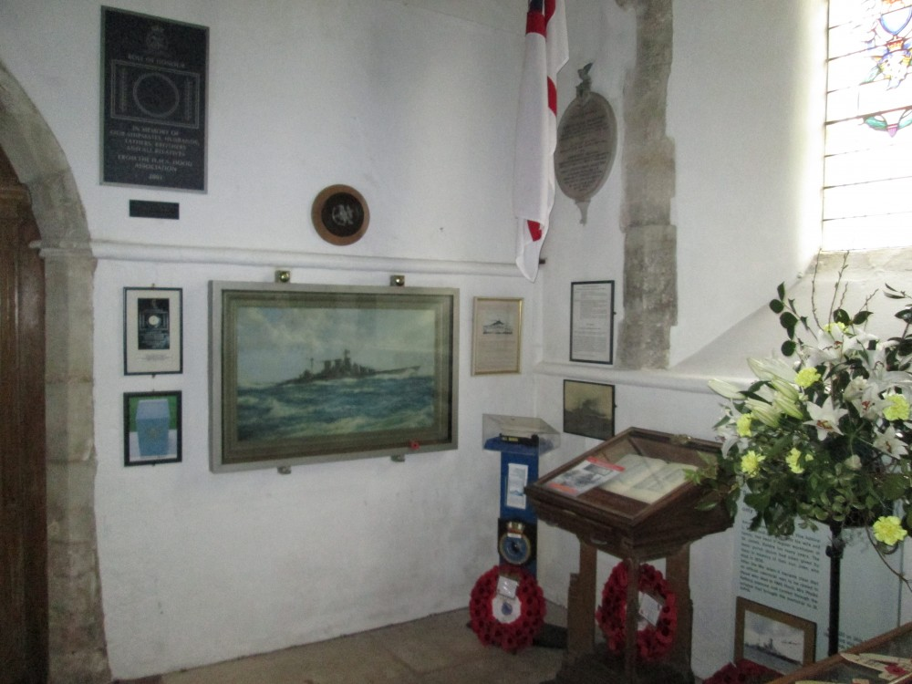 HMS Hood Memorial St Johns Boldre