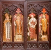 Foxley Rood Screen