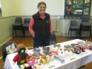 Anne with church stall