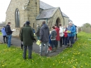 Gathering at St John's Church