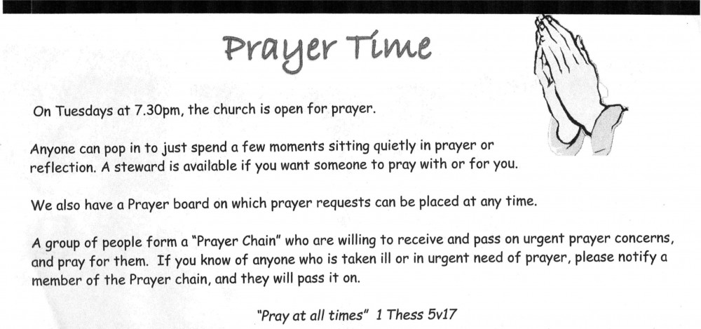 info on Prayer