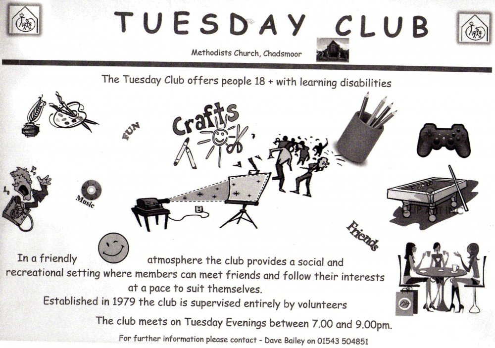 info on tuesday club