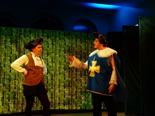 Dandini and the Chamberlain