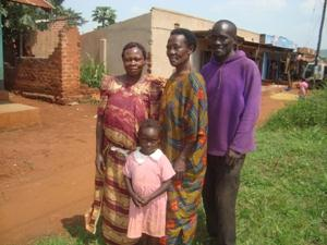 Mariam Atugonza and Family