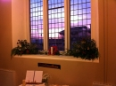 Sunrise through the Prayer Area Window