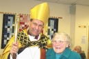 Bishop Jonathan and Muriel (First lady Churchwarden at St. John's, 1977-87)