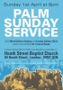 Click here to view the 'Palm Sunday Service' album