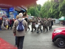 Military are in Lourdes on Pilgrimage