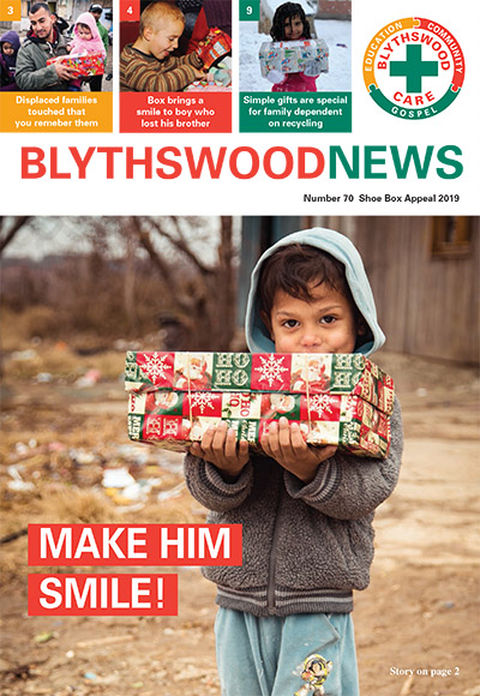 Christmas Shoe Box Appeal 2019.St Ninians Old Parish Church Blythswood Shoebox Appeal