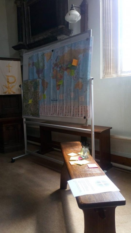 Prayer Map